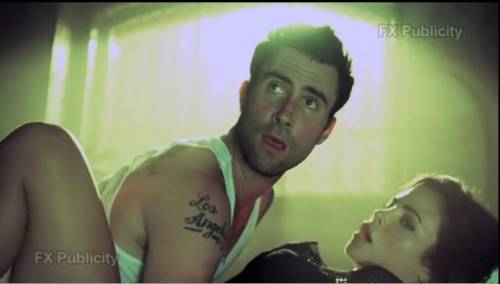 Adam Levine and Jenna Dewan Jenna Dewan American Horror Story Scene
