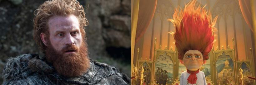 Tormund Giantsbane rumpelstiltskin shrek angry wig
