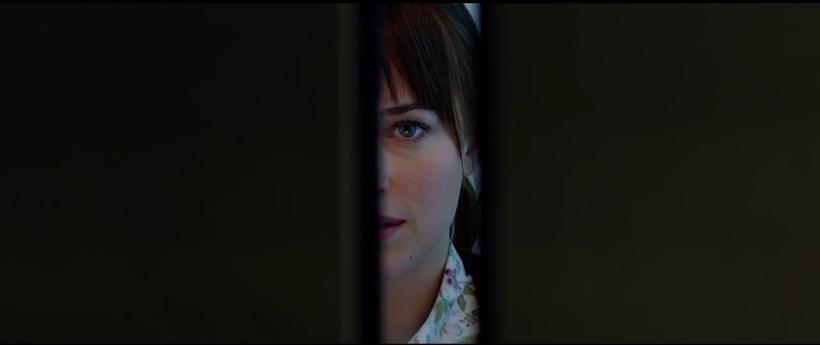 Fifty Shades of Grey Trailer Elevator Anastasia Steele